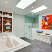 舒适卫生间装饰设计