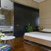 公寓时尚卧室展示