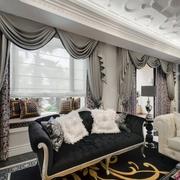 家居客厅窗帘设计