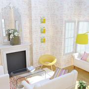纯美欧式客厅效果图