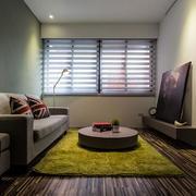 美式客厅沙发抱枕设计