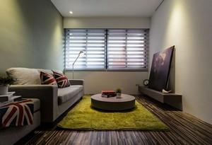 小空间大格局一居室小户型创意客厅装修效果图