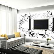 黑白背景墙