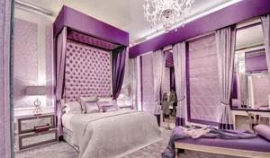 大气紫色卧室