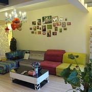 客厅照片墙案例