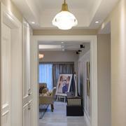 新房玄关灯饰图片