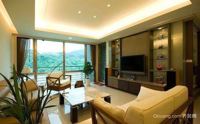 140平米大户型自然简约的房屋装修效果图