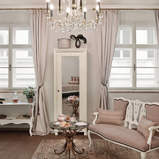 典雅高贵欧式窗帘展示