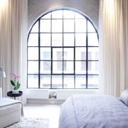时尚的客厅窗帘图