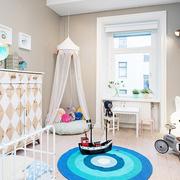 优雅的儿童房效果图