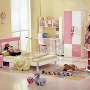 甜美可爱儿童房装修