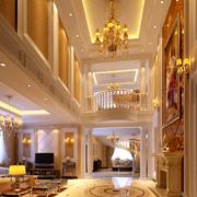 奢华欧式别墅客厅装饰