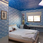 海底世界儿童房装潢