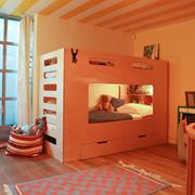 现代温馨儿童房装修