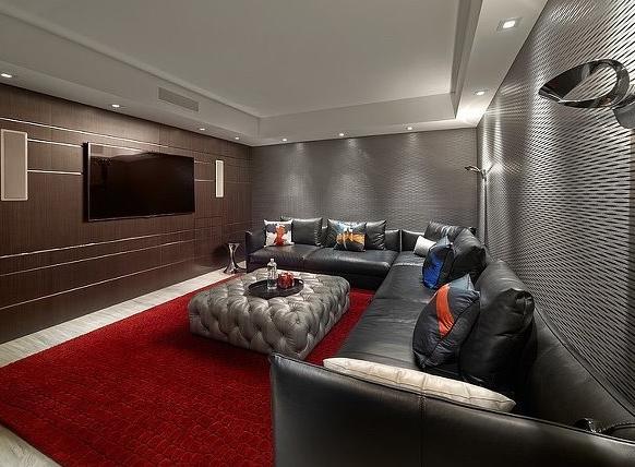 后现代别墅十足的精致别墅家居装修效果图-齐200平方米4层气息图片