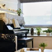 客厅窗帘案例