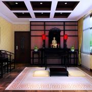 家居中式背景墙展示