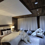 木屋别墅卧室装修