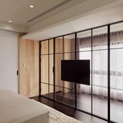 家居卧室独特电视背景墙设计