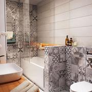 公寓卫生间浴缸