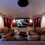 温暖家庭影院设计