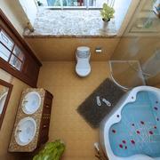 家居卫浴间图