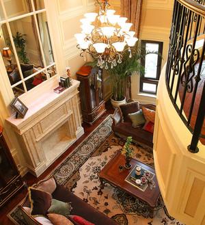 奢华的美式联排别墅家居装修效果图