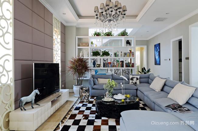 让人心情平静的混搭风格别墅家居装修效果图鉴赏