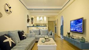 地中海房屋客厅