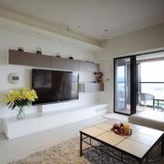 三室一厅电视背景墙图片