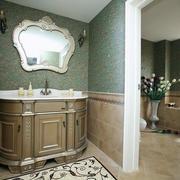 婚房卫生间镜子