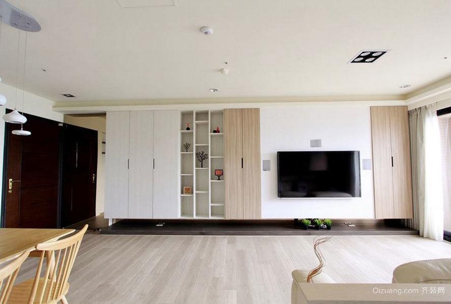 120平米舒适自在三室一厅客餐厅装修效果图