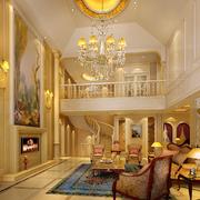 欧式别墅客厅设计