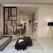 简约大户型房屋客厅欣赏