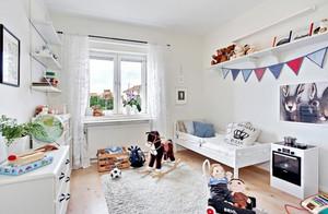 清凉优雅的北欧风格儿童房设计装修效果图