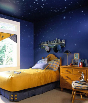 星空下的儿童房装修