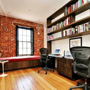 书房吧台效果图片