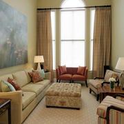 温馨色调客厅效果图片