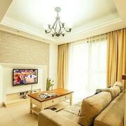 暖色调三室两厅设计