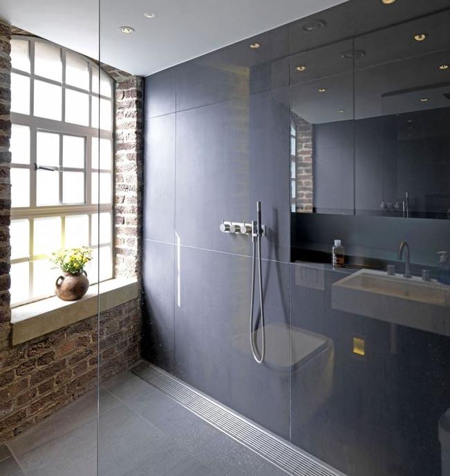 工业风格 小 复式楼 别墅 装修效果图 齐装高清图片