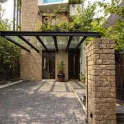 自然风格别墅效果图片