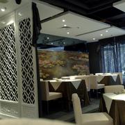 宜家风格餐馆设计图片