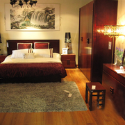 卧室装饰画设计图片