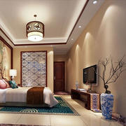 传统型卧室壁纸图片
