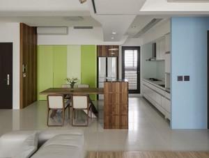 都市简洁三室一厅室内装修设计效果图