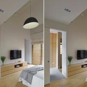 商品房卧室效果图