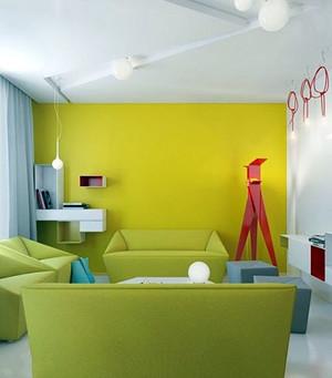 80平米浪漫惬意细腻的公寓装修效果图
