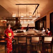 餐馆灯光设计图片