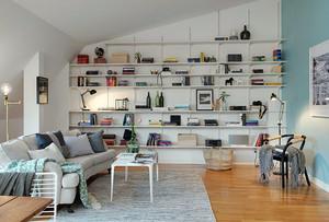 宜家风格书房装修设计