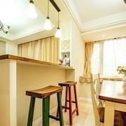 三室两厅吧台设计